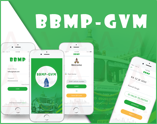 BBMP Garbage Vehicle Monitoring App Development
